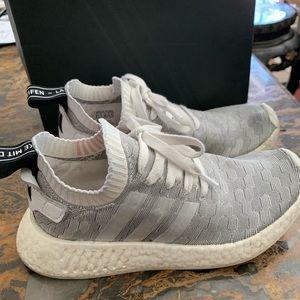 Adidas NMD_R2 PK W Grey Pink Size 6.5